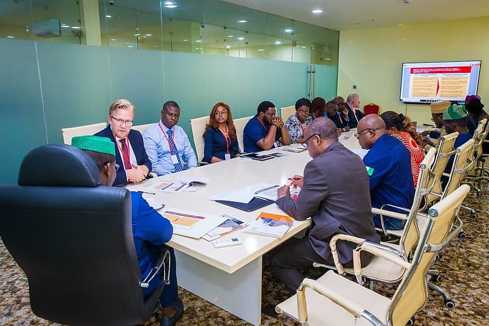 dr wiebe ceo all on consortium of renewable energy companies meeting with ekiti state governor explore partnership opportunities on off grid energy