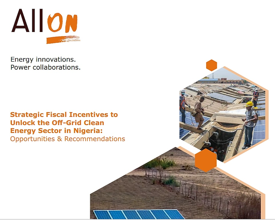 Clean energy sector in nigeria